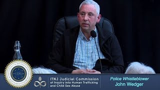 Jon Wedger at the 'International Tribunal for Natural Justice'