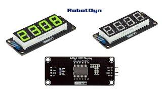 Arduino 7 Segment 4 Digit LED Display Tutorial -