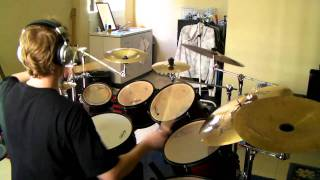 36 Crazyfists - With Nothing Underneath Drum Cover