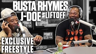 Busta Rhymes's First Radio Freestyle In A Decade