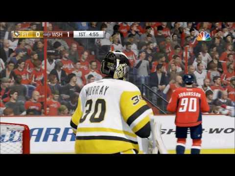 106324ed6cf Pittsburgh Penguins vs Washington Capitals Gameplay HD 1080p60FPS play