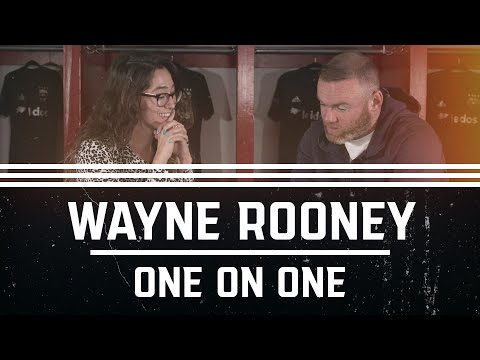 One-on-One with Wayne Rooney