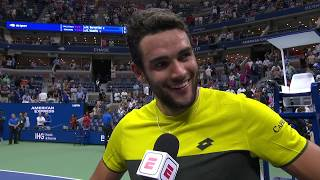 """Matteo Berrettini: """"Right now I don't remember any points!"""" 
