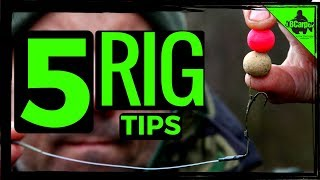 5 CARP FISHING RIG TIPS 😀