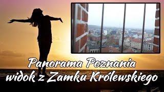 Panorama Poznania, widok z Zamku Królewskiego.