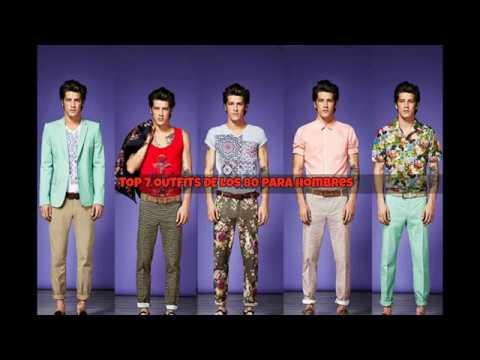 Top 7 outfits de los años 80s para hombres