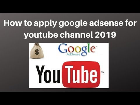 How to apply google adsense for youtube channel 2019