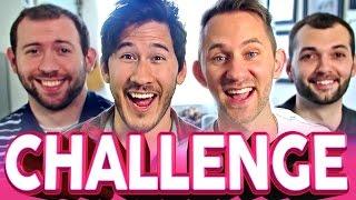 FINISH MY SENTENCE CHALLENGE | Markiplier, Wade, Matthias & Jesse