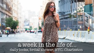 New York City Travel Diary, Charleston Style Studio & a Bridal Shower!
