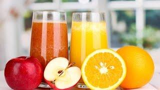 Ну очень вкусный морковно-апельсиновый сок со сливками.Очень простой рецепт.