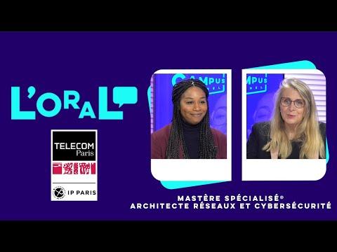 L'oral : MS architecte réseau et cybersécurité