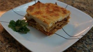 lasagna recipe (egyptian version) …..طريقة عمل اللازانيا