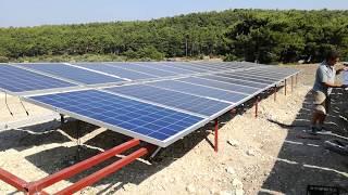 Güneş Enerjili Sulama - 10 Hp 7,5 Kw 380 Volt Dalgıç Pompa