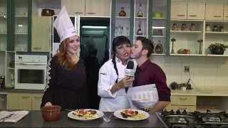 Erikka Rodrigues e Oscar Alejandro no Giro da Gastronomia