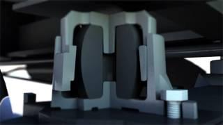 Презентационный ролик Вагонмаш: беззазорный скользун MV-18SB