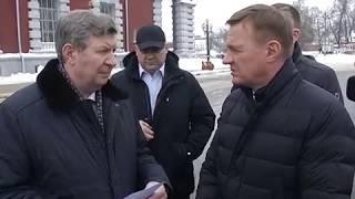 Роман Старовойт проехался в общественном транспорте Курска