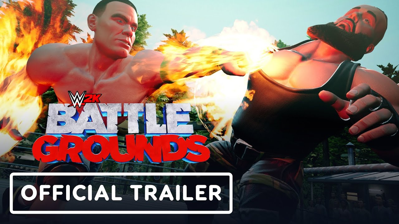 Анонсирующий трейлер игры WWE 2K Battlegrounds