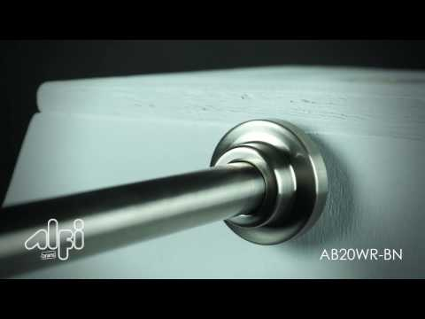 Video for Polished Chrome Round Wall Mounted 20-inch Shower Arm