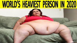 World's Heaviest Person In 2020 | Top 10 Fattest People In 2020 | WORLD RECORD 2020 |