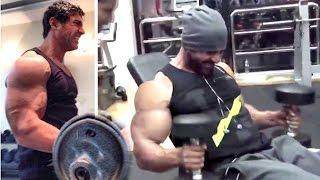 All John Abraham's Intense Gym Bodybuilding Workout Videos
