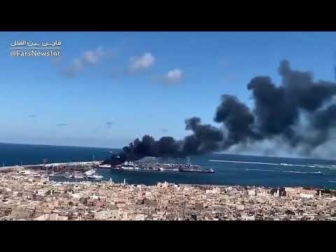 Trablus'ta Türk Gemisine Saldırı