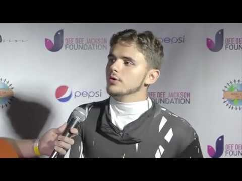Michael Jackson's son, Prince Michael Jackson interview at his Halloween Party
