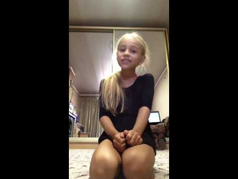Акрабатические упражнения от Алины