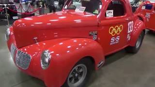 Coastal Viginia Auto Show Hot Rods Muscle Cars and Pro Streets Dreamgoatinc Classic Video