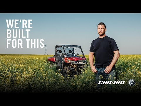2019 Can-Am Defender MAX XT CAB HD10 in Garden City, Kansas - Video 1