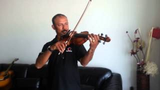 Sri Lankan National Anthem on Violin by ABW