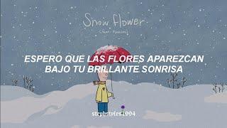 V [BTS] - Snow Flower [feat. Peakboy] (Traducida al español)