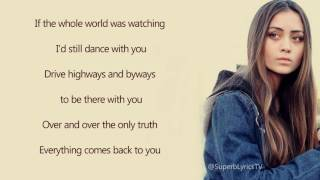 Niall Horan  This Town  Lyrics Jasmine Thompson Cover