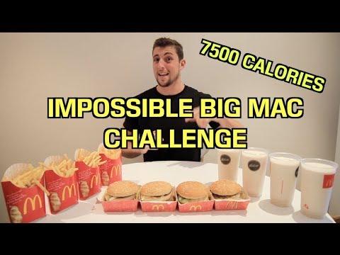 The IMPOSSIBLE Big Mac Challenge   Matt Stonies RECORD BEATEN!