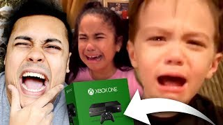 WORST KIDS CRYING ON CHRISTMAS MORNING (BAD PRESENTS)