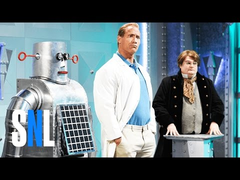 Dwayne Johnson - World's Most Evil Invention SNL Skit