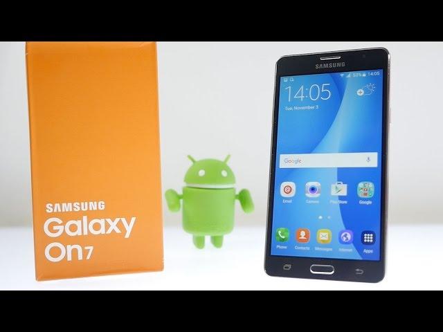 Samsung Galaxy On7 Technische Daten Test Review Vergleich