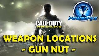 Call of Duty Infinite Warfare - All Weapon Scan Locations (Gun Nut Trophy / Achievement Guide)