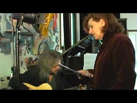 """BARBARA DICKSON - recording """"LOOK AT THE MOON"""" (THE SONGS OF GERRY RAFFERTY)"""