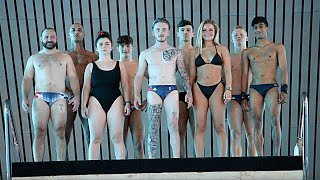 GYMNASTS vs DIVERS   Battle of the Sports!?   Nile Wilson