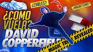 la ILUSIÓN mas sorprendente de la historia al fin REVELADA | ¿Cómo David Copperfield puede volar?