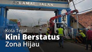 Kota Tegal kini Berstatus Hijau, Sekaligus Tutup Status PSBB yang Dimulai sejak 23 April 2020