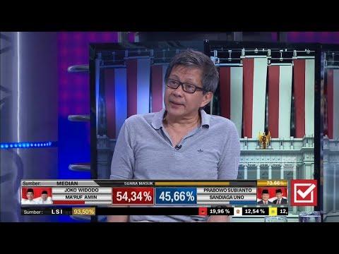 Prabowo Klaim Menang Pilpres, Ini Kata Rocky Gerung