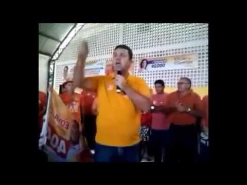 Discurso do Prefeito de Capim-PB Edvaldo Freire em Mamanguape-PB