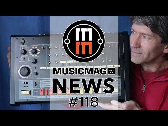MUSICMAG TV NEWS #118: Soma Ether, Behringer против Roland, Ableton 10.1 и др.