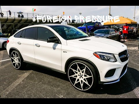 Mercedes Benz GLE on Forgiato Wheels in HD