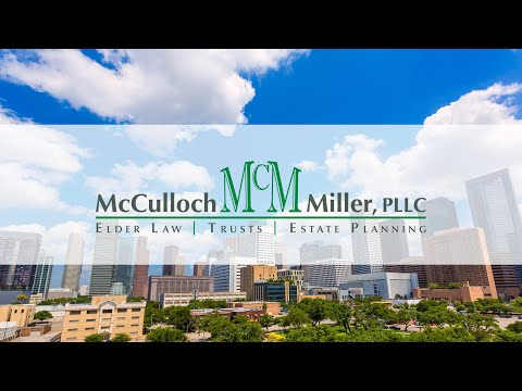 Trusts 101 - Webinar from McCulloch and Miller, Houston Texas