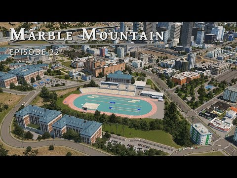 Varsity Sports - Cities Skylines: Marble Mountain EP 22