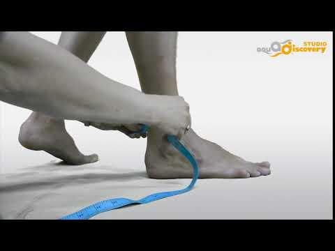 Как измерить щиколотку (обхват)? IBOLIT UA
