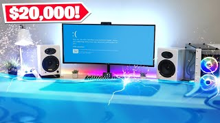 My $20,000 Gaming Setup FLOODED!