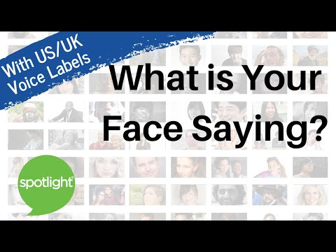 What Is Your Face Saying? | practice English with Spotlight